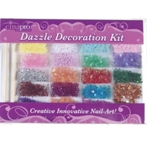 CINAPRO NAIL CREATIONS Dazzle Decoration Kit 20-