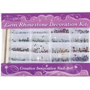 CINAPRO NAIL CREATIONS Gem Rhinestone Decoration K