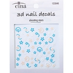 CINAPRO NAIL CREATIONS 3-D Nail Decals Shooting St