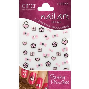 Cinapro Nail Creations Nail Art Decals Punky Princess (134128)