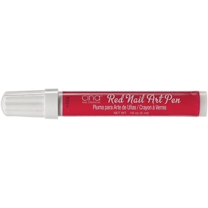 CINAPRO Nail Art Pens. Red 0.16 oz. (134138)