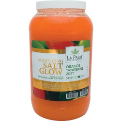 La Palm Products Orange Tangerine Zest Soothing Salt Glow 1 Gallon (140125)