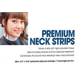 "Premium Neck Strips - 2.5"" x 16.5"" 60 Count per Pack X 12 Packs = 720 Strips (140541)"