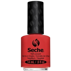 Smitten - Seche Fast Dry One Coat Nail Lacquer Bright Pink Orange Shimmer 0.5 oz. (150235)
