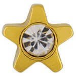 Studex Gold Plated Crystal Star 4mm (181004)