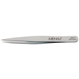 Mehaz Stainless Steel Point Tip Tweezer (193020)