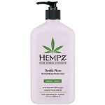 Hempz Vanilla Plum Herbal Body Moisturizer 17 oz. (201989)