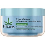 Hempz Triple Moisture Whipped Creme Body Scrub 7.3 oz. (205277)