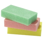 STAR NAIL Pumice Pad Assorted Colors 24-ct.