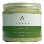 AMBER PRODUCTS Green Tea Mint & Peppermint Foot Sc