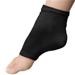 Super Duper Pedi Sock - Black Cotton Blend - One Size Fits All 1 Pair (301377)