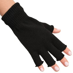 Manicure Hand Warming Gloves - Black 1 Pair (301446)