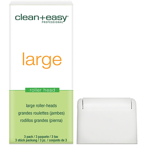 CLEAN & EASY Leg Large Roller Heads 24-Count