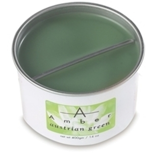 AMBER PROFESSIONAL Austrian Green Hard Wax 14 oz