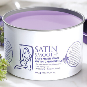 SATIN SMOOTH Lavender Wax 14 oz. (302168)