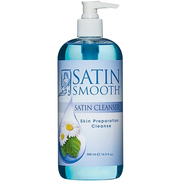 SATIN SMOOTH Satin Cleanse Skin Preparation Cleans