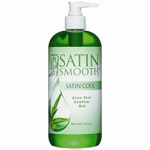 SATIN SMOOTH Satin Cool Aloe Skin Soother 16 oz.