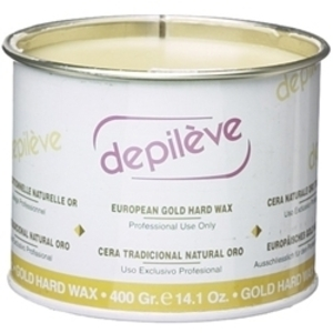 DEPILEVE European Gold Hard Wax 14 oz.