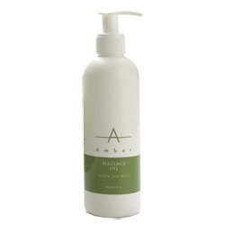 AMBER PRODUCTS Oil Green Tea Mint 8 oz.