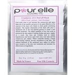 PURELLE COSMETICS Cranberry AHA Peel Off Mask 30g