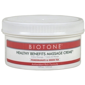 Biotone Healthy Benefits Massage Creme 14 oz. (307112)