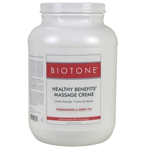 Biotone Healthy Benefits Massage Creme 1 Gallon (307113)
