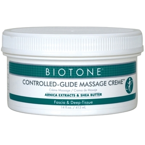 Biotone Controlled-Glide Massage Creme 14 oz. (307130)