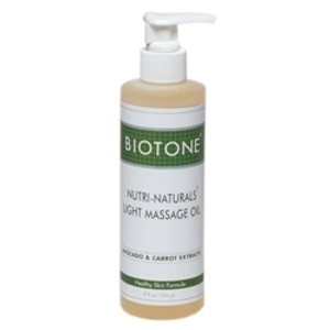 BIOTONE Light Massage Oil 8 oz. w Pump