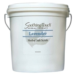 SOOTHING TOUCH Lavender Herbal Salt Scrub 2 Gall