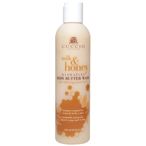 CUCCIO NATURALE Hydrating Body Butter Wash Milk & Honey 8 oz. (308008)