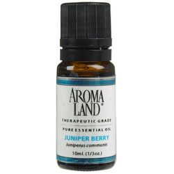 AROMA LAND Juniper Berry Essential Oil 1 oz.