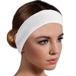 "Disposable Stretch Headbands - 2"" Wide 48 Count (309281)"
