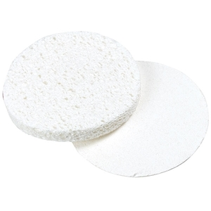 "FOR PRO 2.75"" Round Compressed Sponges White 100-Count (309426)"