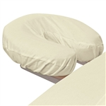 Poly-Cotton Face Cradle Cover - Natural 180 Thread Count (309655)
