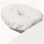 Premium Flannel Face Cradle Cover - White 100% Cotton - 150 GSM (309663)
