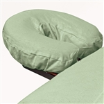 Premium Flannel Face Cradle Cover - Sage 100% Cotton - 150 GSM (309665)