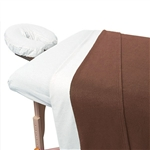 "Polar Fleece Blanket - Chocolate 63"" x 90"" 230 GSM (309674)"