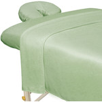 Premium Microfiber 3-Piece Massage Sheet Set - Sage (309707)