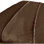 Premium Microfiber Flat Sheet - Chocolate (309747)