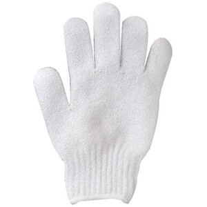 Exfoliating Gloves - White 1 Pair (311085)