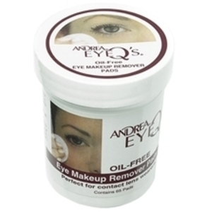 ANDREA Eye Q's Oil-Free Eye Make-up Remover Pads