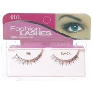 ARDELL Black 108 Fashion Lashes 1 Pair