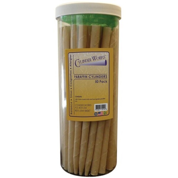Cylinder Works Incense Candles - Paraffin 50 Count (320282)