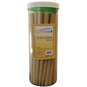 Cylinder Works Incense Candles - Tea Tree 50 Count (320283)