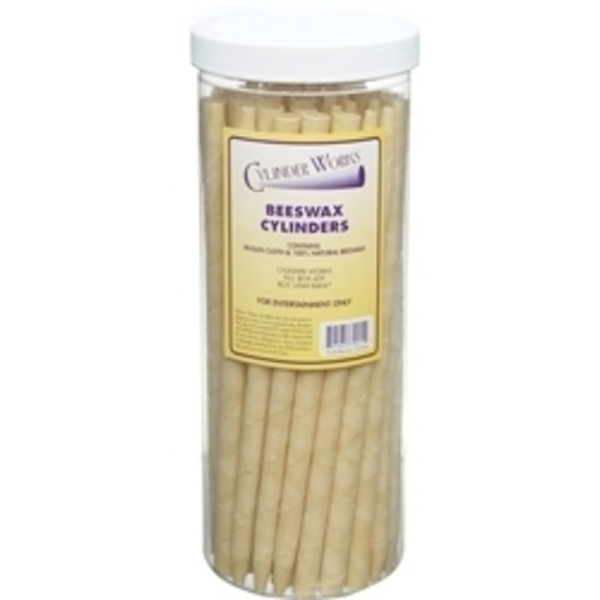 CYLINDER WORKS Beeswax Incense Candles 50 Count (320299)