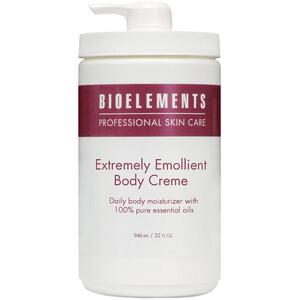 Bioelements Extremely Emollient - Antioxidant Rich Daily Body Moisturizer 32 oz. (370017)