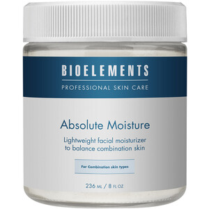 Bioelements Absolute Moisture - Lightweight Facial Moisturizer for Combination Skin 8 oz. (370043)