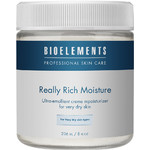 Bioelements Really Rich Moisture - Ultra-Emollient Creme Moisturizer for Very Dry Skin 8 oz. (370051)