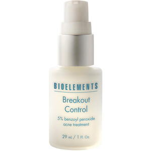 Bioelements Breakout Control - 5% Pharmaceutical Grade Benzoyl Peroxide Lotion for Acne Breakouts 1 oz. (370084)