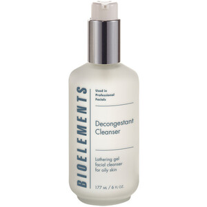 Bioelements Decongestant Cleanser - Lathering Gel Cleanser for Oily Skin 6 oz. (370092)